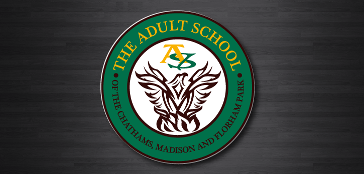Logo design for The Adult School of The Chathams, Madison and Florham Park