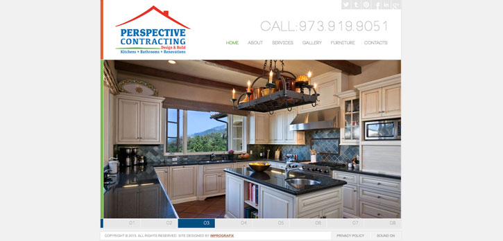 Perspective Contracting, LLC Website Design